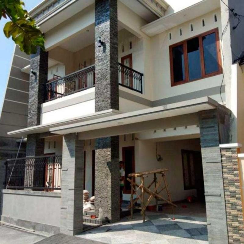 Desain Rumah Villa Bali Modern