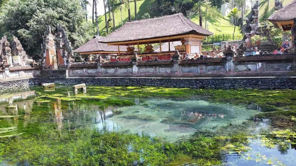 Tirta Empul Temple Area