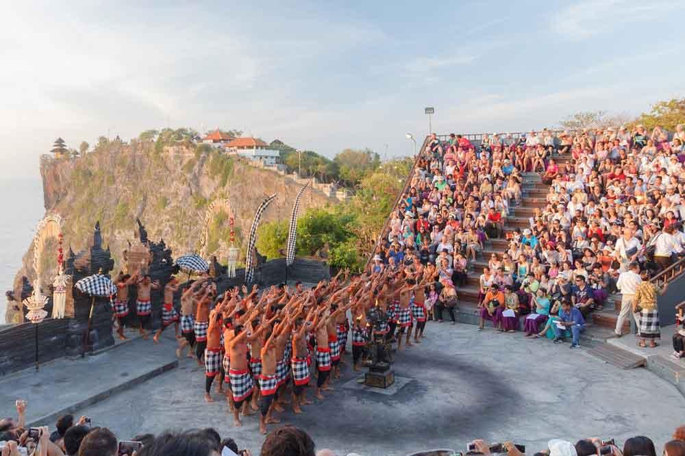 Uluwatu Open Stage of Kecak Dance